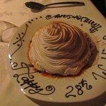 Anniversary surprise at the Ivi Restaurant