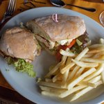 Chicken Panini Sandwich