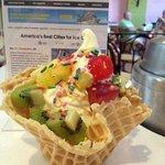 Travel & Leisure selected Sweet CeCe's Frozen Yogurt + Juice Bar as #1 in Charleston