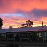 Another beautiful Kulgera sunset behind the famous pub