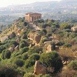 ジュノーネ神殿 (ヘラ神殿)・・・コンコルディア神殿の眺望
