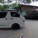 Cristobal's minivan