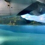 Veduta aerea di Maupiti