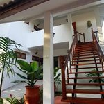 2 - Staircase to Spa Villa level 2