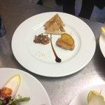 Foie gras oignon au banyuls
