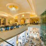 Resort lobby area
