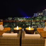 View from one of the outdoor seating areas