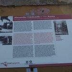 Temple of Hercules ・・・ハードキャッスル卿の説明看板