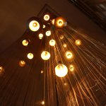 cool lights in lobby