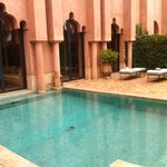our private pool: Maison number 3