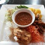 Melecca Straits 'salad'