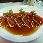 Llom Tonyina Escab ... Not exactly steaks but very nice