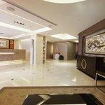 The lobby of Metro Hotel