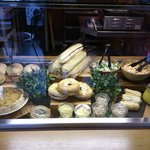 Refectory selection of homemade sandwiches