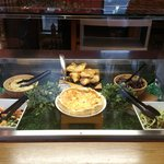 Refectory selection of salads