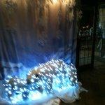 Christmas Polar Bear display