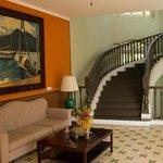 Treppenhaus im grossen Haus