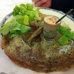 crepe blé noir oeuf aux truffes et glace foie gras