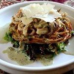 Calamari - with potato nest & Parmesan