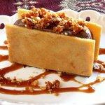 Choc Ice-Cream Sandwich - with Hazelnuts & Honey biscuit