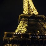 Eiffel Tower, approx 30 minutes walk from Hotel Niel