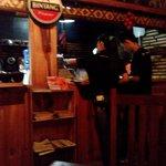 the pony tail waitress very friendly
