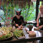 cooking class with the chef Chai