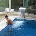 David enjoying