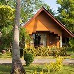 En beachfront bungalow