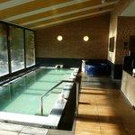 1階の大浴場 サウナも併設されています