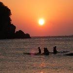 弓ヶ浜海岸からの初日の出