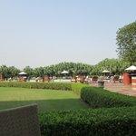 Outdoors at the Taj