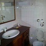 Wash room( flush over flows)