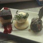Trio of Christmas Desserts