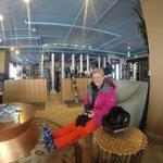 Ski Valet Area