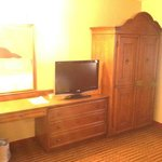 Bedroom Armoire and TV