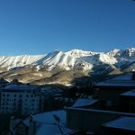 View from room facing away from Telluride ski resort