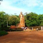 The Maligawila Buddha Statue