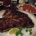 T-Bone Steak Medium Rare!