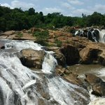 cascading river falls