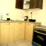 Functional kitchen in the apartments
