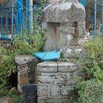 Le puits de village de Ty Puns gere par nous