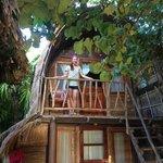 the upstairs Bali Hut