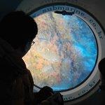 빛 받은 산호, 산호를 보는 아버지와 딸