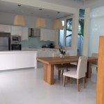 La cucina della villa