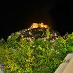 το καστρο τη νυχτα