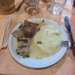 Saltimbocca alla Romana con Purè di Patate