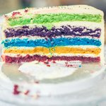 our famous rainbow cake