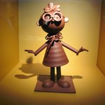 Sculpture en chocolat (20cm de haut)