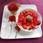 dessert  de la table d'hôtes